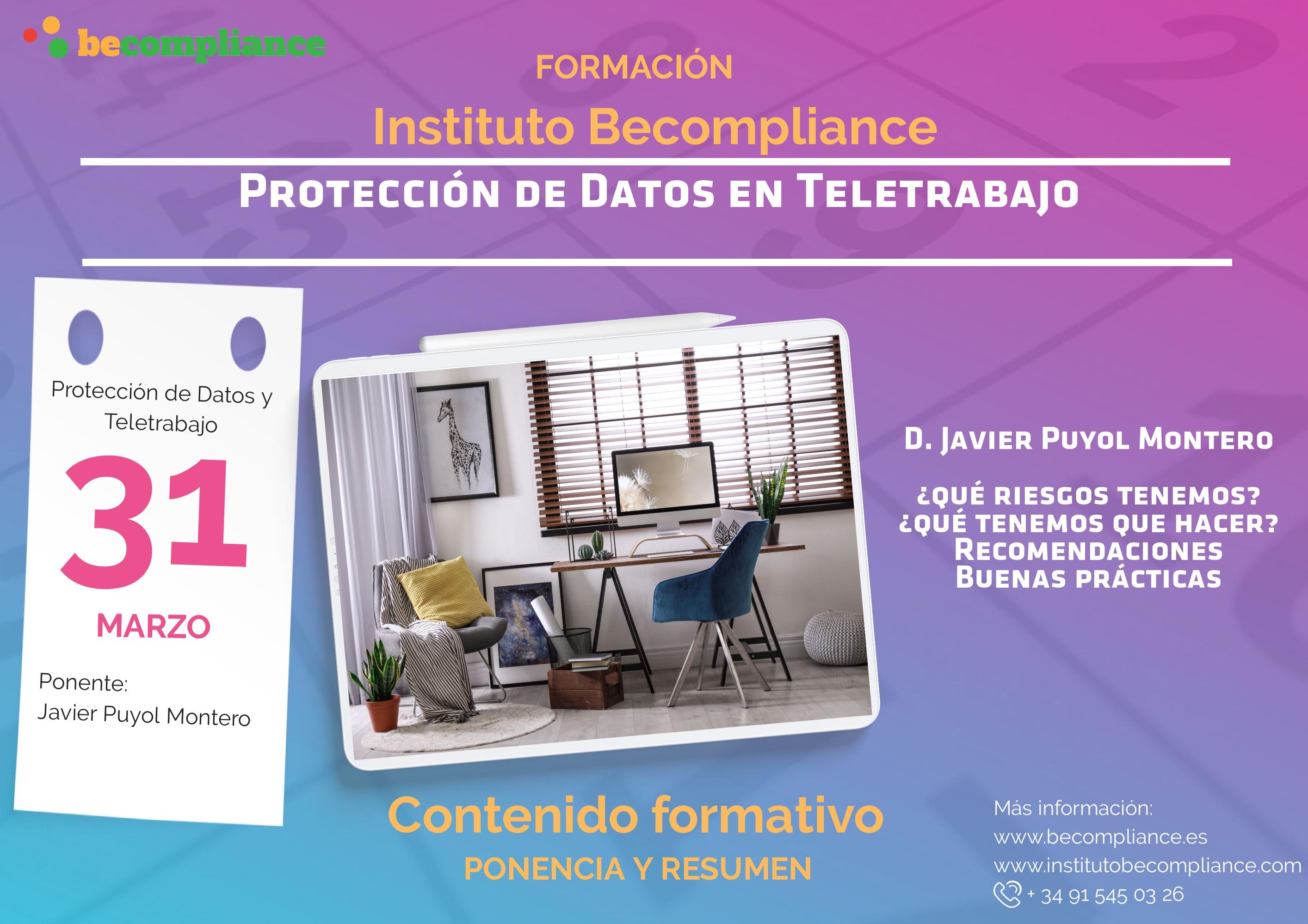 Protección de Datos en Teletrabajo